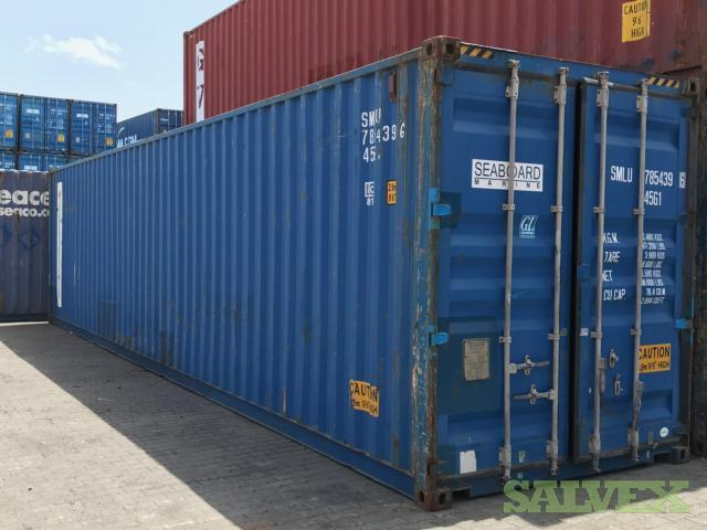 40' HC Containers (5 Units)