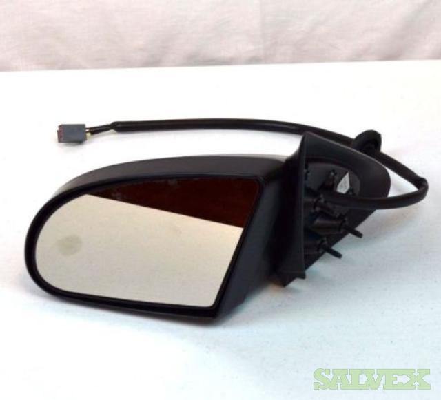 OEM 92-95 Ford Taurus Driver Side Door Mirror Electric Power Black