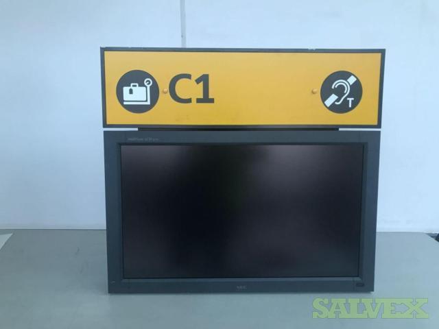 LCD Monitors & Display Screens (76 Units)