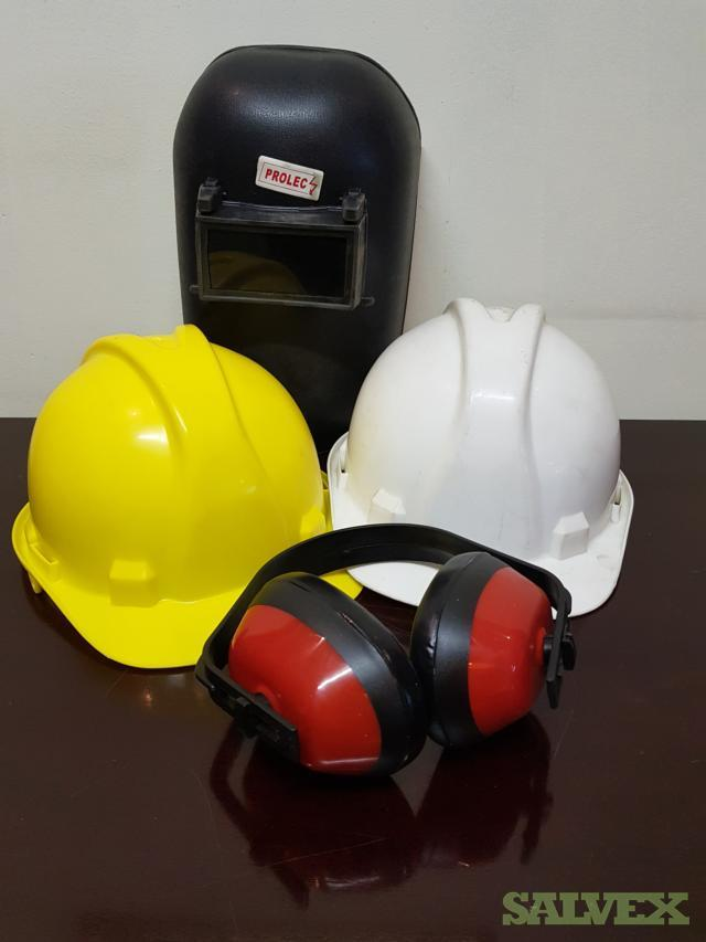 Safety and Protective Equipment: Coats, Ear Plugs, Gloves, Hard Hats (3,038 Items)
