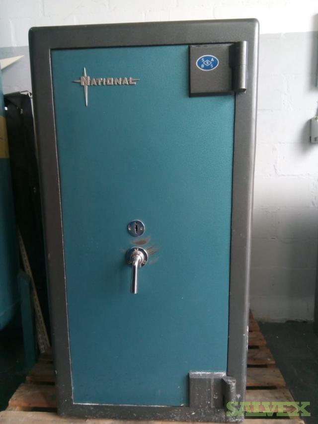 National Safe Including Keys - Size 68 x 68 x 135cm
