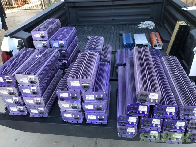 Digital Lighting Grow Ballast 1000w 750w 600w Lumatek - 47 Units