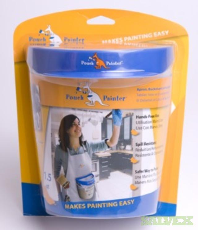 Pouch Painter Aprons with Paint Buckets (1,900 Pcs)