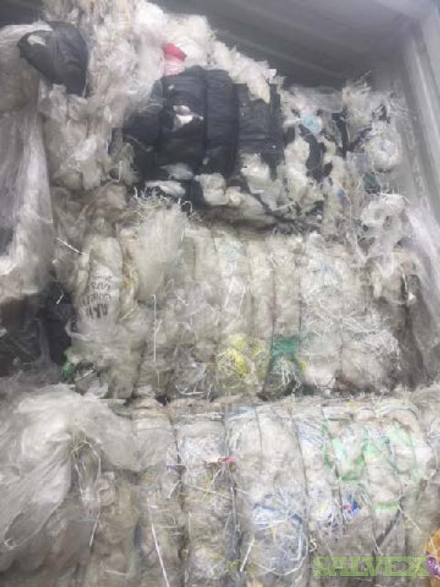 LDPE  Plastic Scrap In Bales (82,261 Lbs) QUICK SALE
