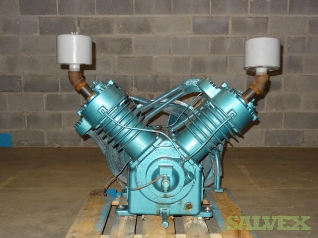 Kellogg - ComPair 15, 20 or 25 HP Two-State Air Compressor Pump Head Model 462 - 2 Units