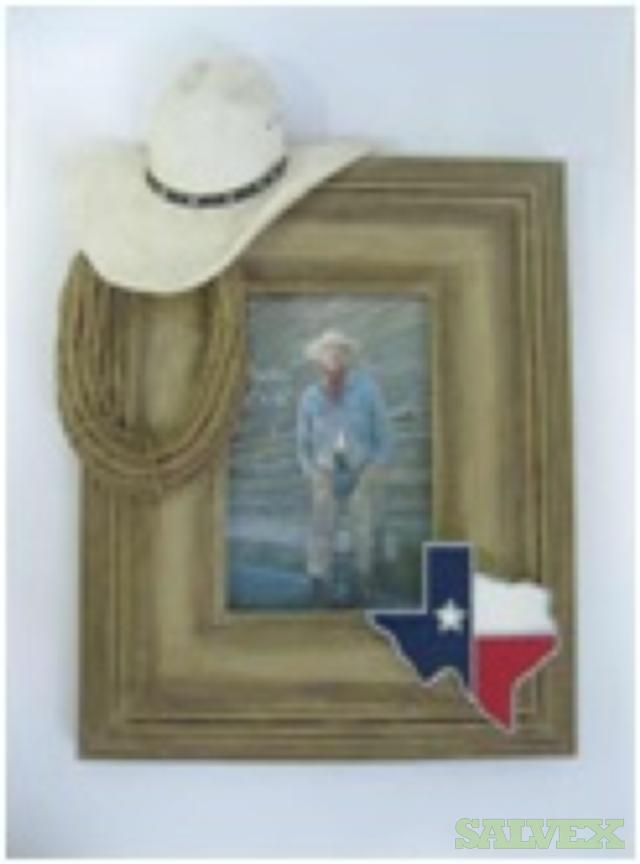 Texas Lone Star Resin Picture Frames (37,122 units)