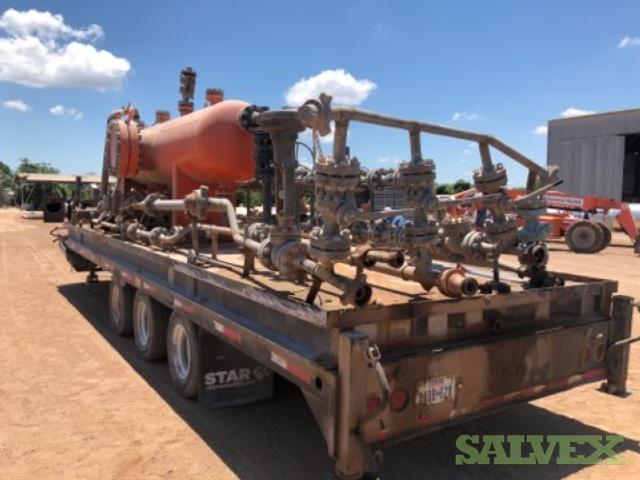 32ft Deck-over Star Metal Fabrication mounted on Gooseneck