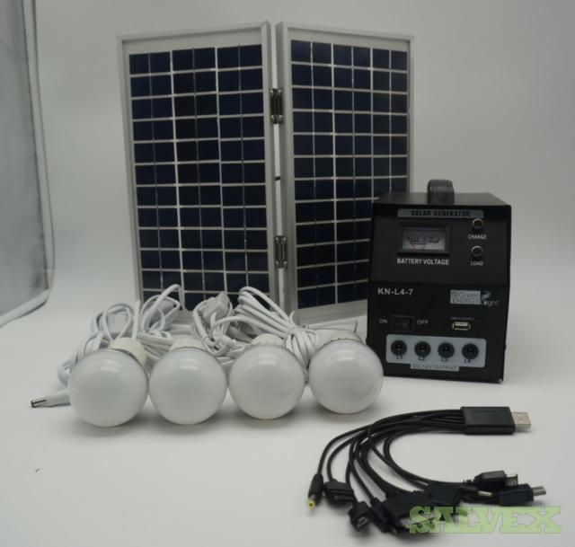 Solar Portable Generator Kit (300 Units)