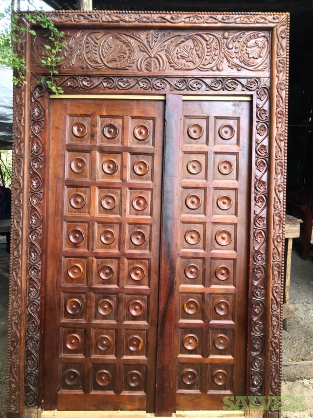 Historical Authentic Zanzibar Doors (2 Units)