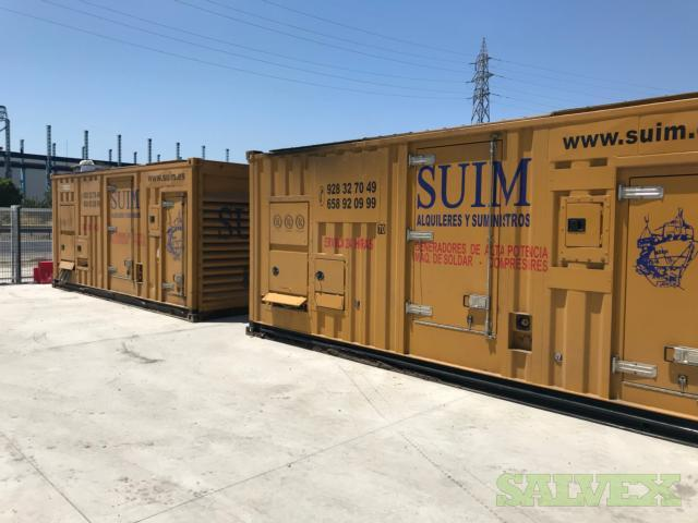 CAT 3508 Diesel Generators 1250 and 1000 Kva 2005 (2 Units)