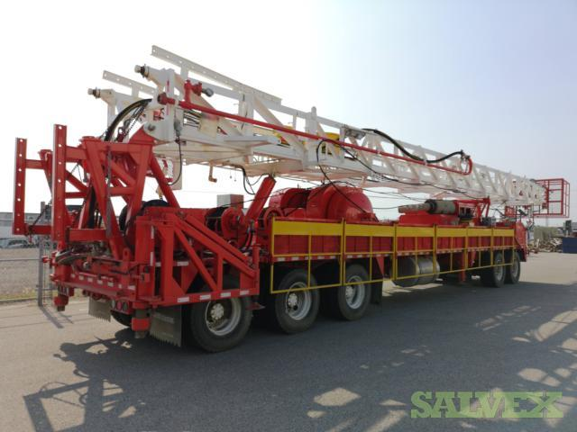 2014 SJ Petro Workover Rig Truck (Unused)