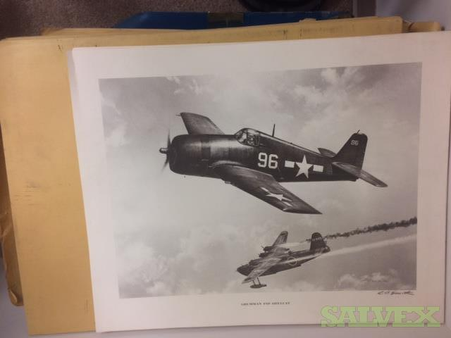 World War 2 Prints - R.G. Smith Artist 16 x 20 (1,000 Pieces)