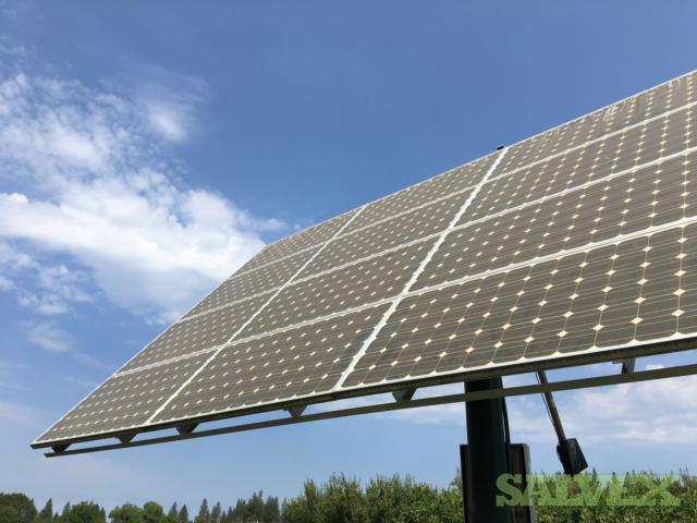 175W Sharp Mono PV Solar Panels (352 Modules)