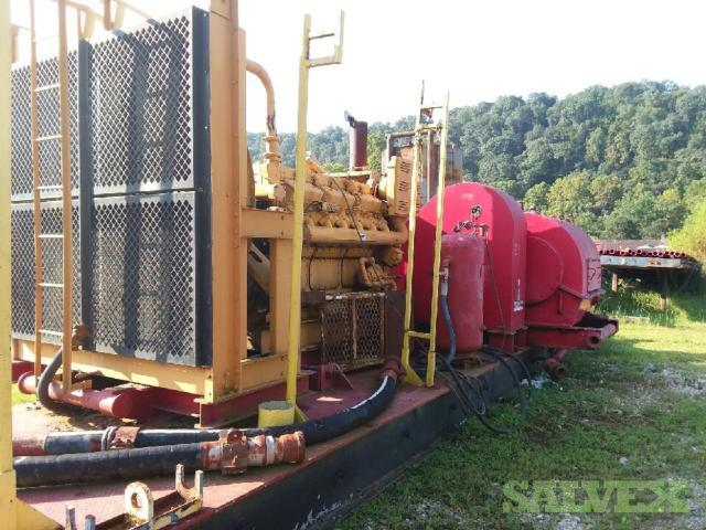 3 Tank Mud System with Generator Shacks
