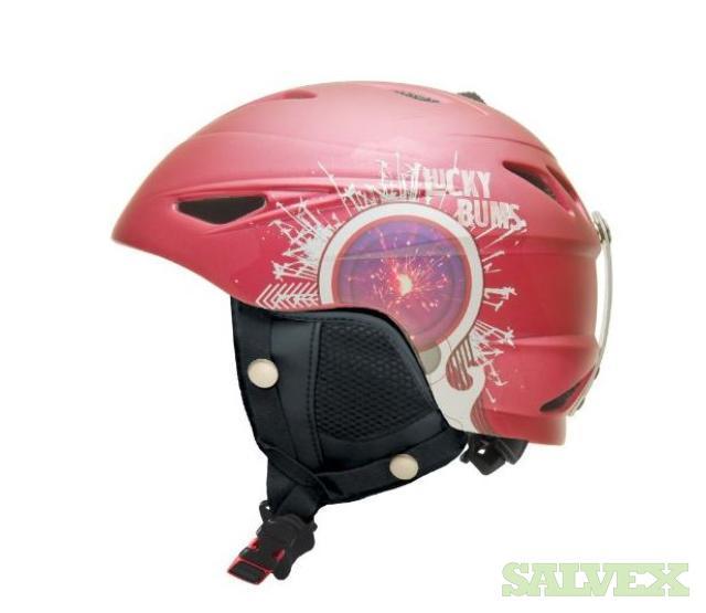 Lucky Bums Snow Sport Helmet - 32 Units