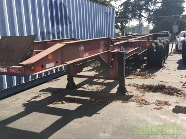 Chassis 20 footer's (3 units )