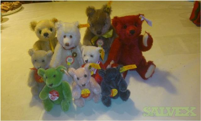 Steiff Original Teddy Bears (283 Units)