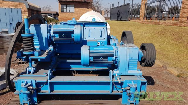 FAM Double Roller Crusher ZWB 0810 MS-H - for Coal Processing