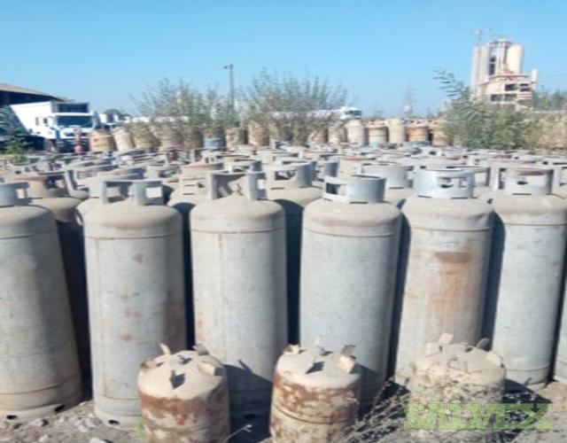 Scrap LPG Cylinders (590 MT)