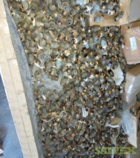 Scrap Brass Valves from LPG Cylinders (200,000 Pieces / 60 MT)