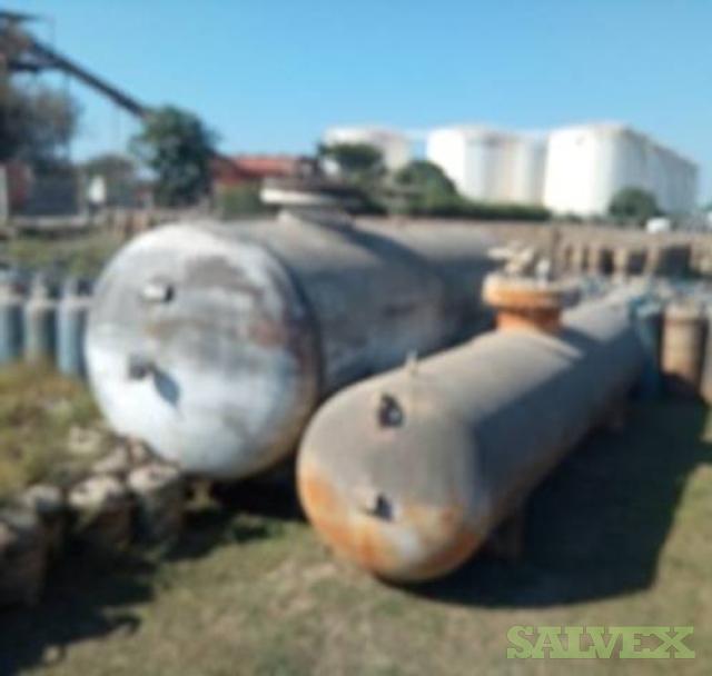 LPG Tanks 20m3 (2 Units) 7.5MT Sold As Scrap
