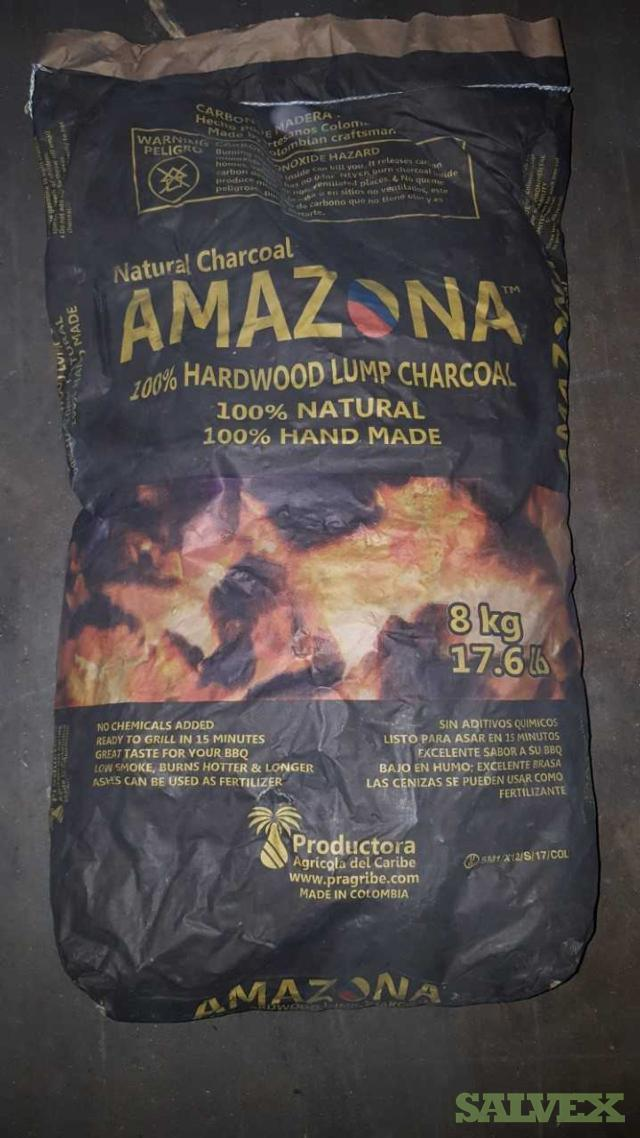 Bags of Charcoal - 17.6 lbs each for retail (1800 bags)
