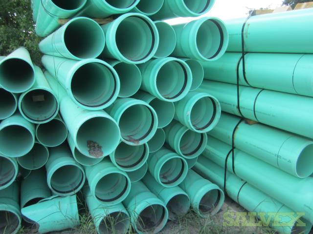 10  SDR26 HW PVC Pipe (2,268 Ft)