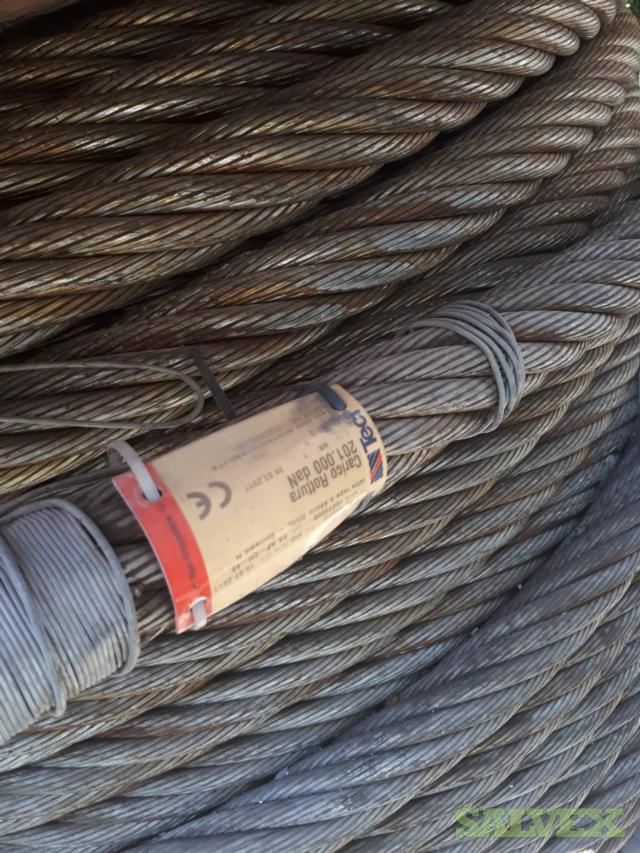 TECI Brand Wire Rope - Suitable for Gottwald HMK300 Crane (482 ...