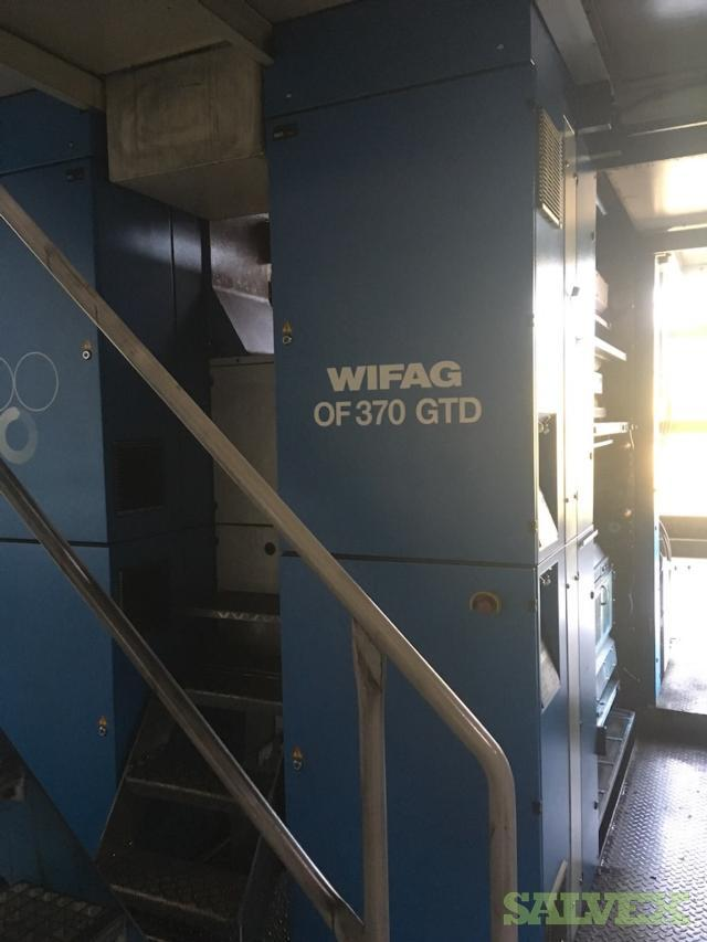 Newspaper Printing Machines Cold Set WIFAG OF9.2 and OF370 (2 Machines)