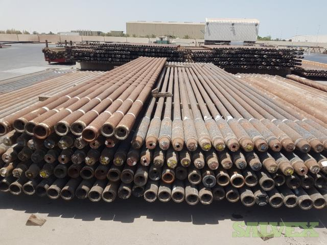 3 1/2 15.50# G-105 NC 38 Used Drill Pipe (1,544 Feet / 11 Metric Tons)