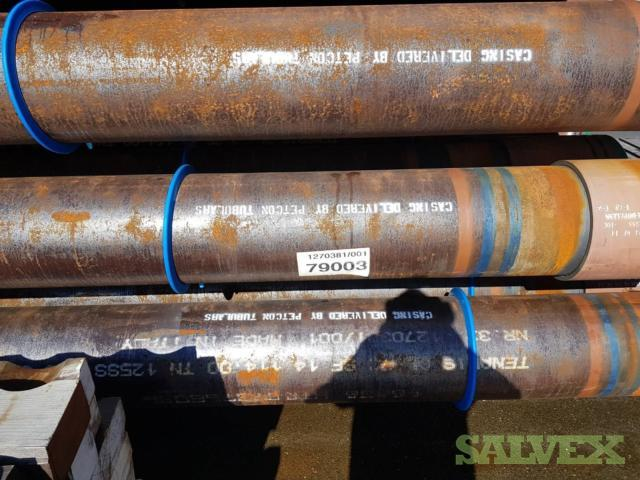 14 114# TN125SS TSH Blue Max Dopeless DPLS R3 Surplus Casing (1,480 Feet / 77 Metric Tons)