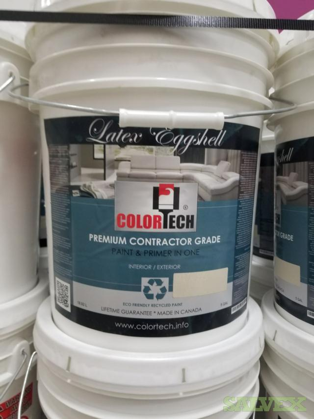 ColorTech Paint, 5 Gallons Per Bucket -2,729 Buckets