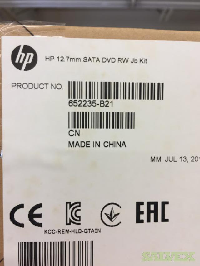HP 12.7mm SATA DVD Job Kits (QTY 151)
