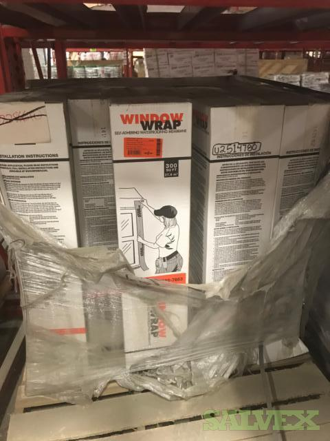 Window Wrap 9 Inches x 100 Ft  (80 Rolls)