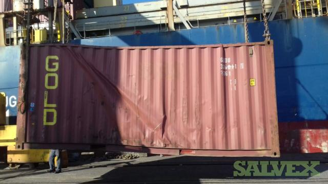 Empty Container 20 ft DV Standard