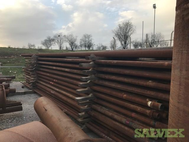 3 1/2 12.95# L80 BTS6 R2 Scrap Tubing (18,690 Feet / 110 Metric Tons)