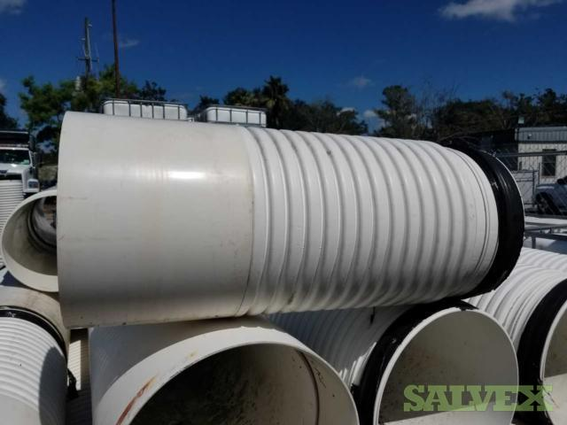Contech A2000 PVC Storm Sewer Pipe (25 pipes)