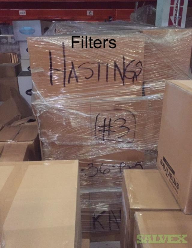 Hasting Filters: Air Filter, Fuel Filter, Hydraulic Filter and More (7,331 Items/19 Pallets)