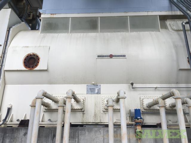 GE Hydrogen Cooled Generator Field Rotor