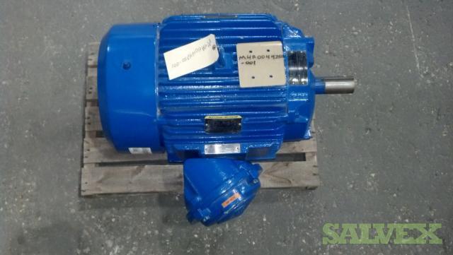 Motors 25 HP 1800 RPM 60 HZ 440/460 V (4 Units)