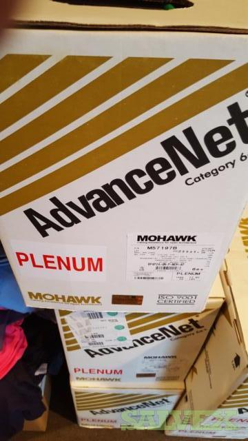 Cat 6E Plenum Cable - Mohawk Advanced Net - 36 Cases of 1,000'