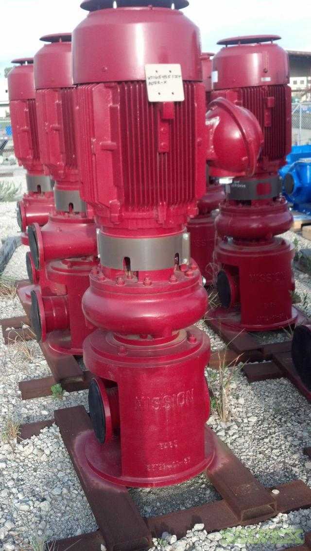 Vertical Pump 654 HI MS 75 HP, 1200 RPM, CP6