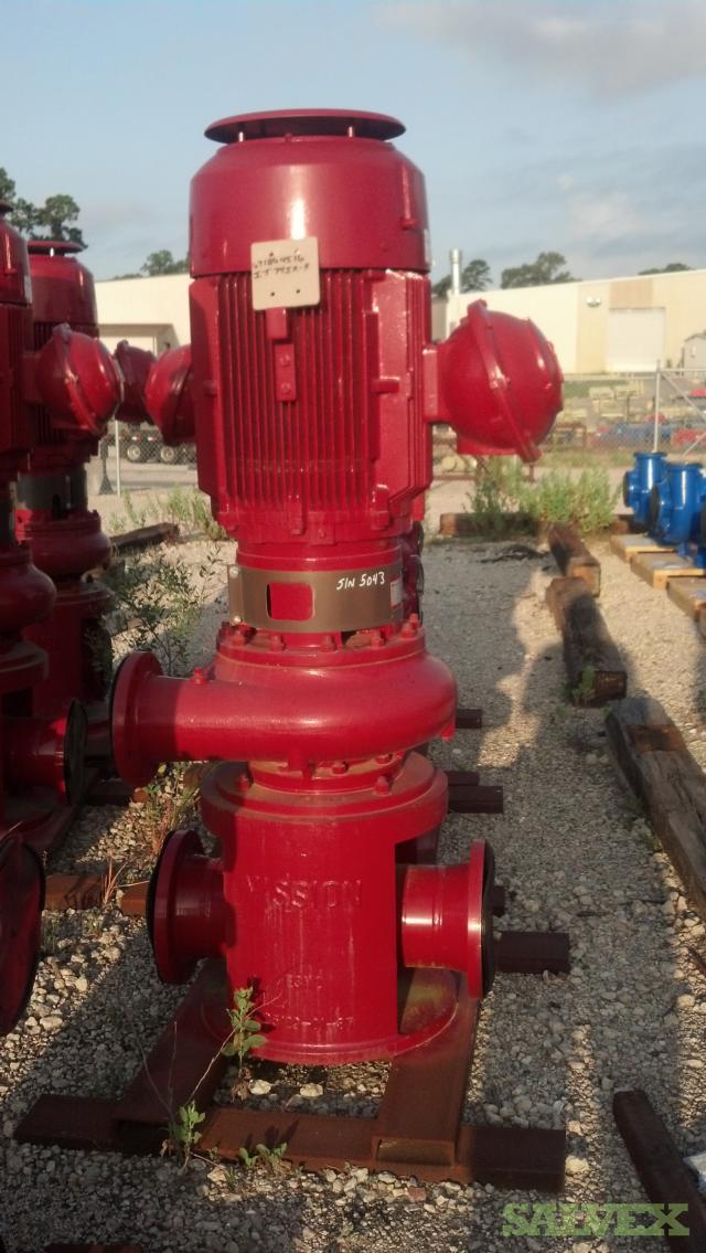 Vertical Pump 654 HI MS, 60 HP, 1200 RPM, CP3