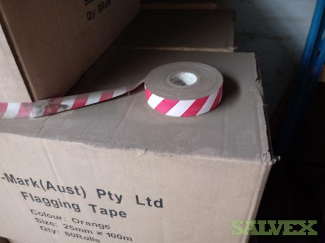 Dy-Mark Flagging Tape, Various Colours (220 Boxes)