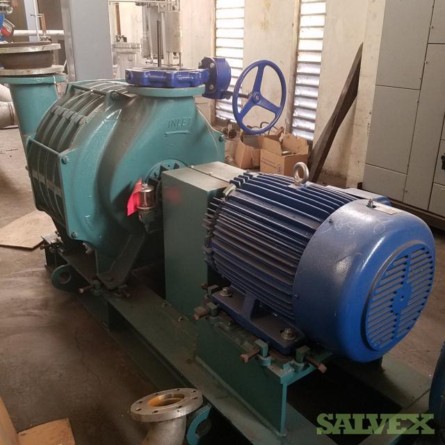 Gardner Denver 855 Blower with 75 HP Motor - 2 Units