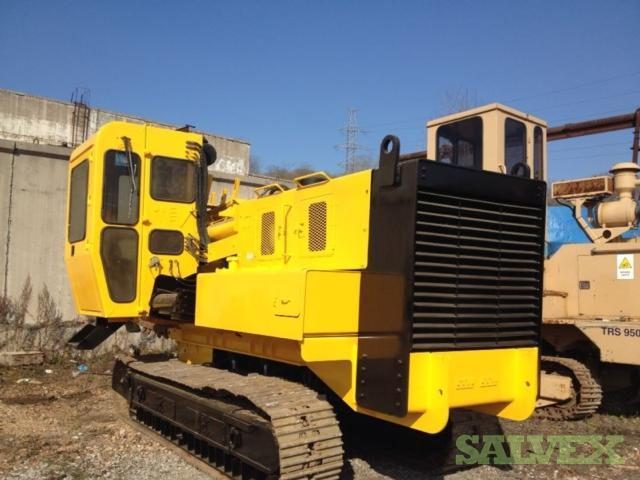 Trench Excavator Vermeer T 655 DT 1999 (1 Unit) and Tesmec TRS-950 SLO D.G. Cummins 6CTA 8.3 Elite 2000 (1 Unit)