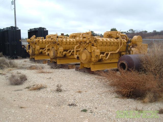 CAT 3516SITA Skid Mounted Gensets 800 kw (3 Units)