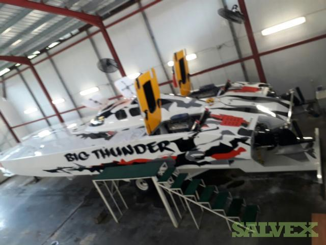 Race Boat 43ft Skater Hull Cut Down
