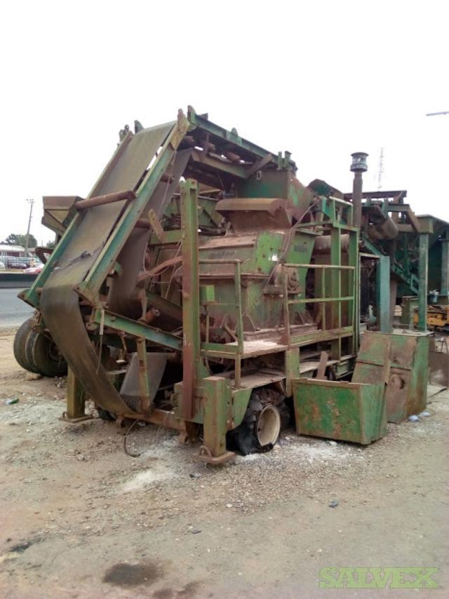 Anfer Mobile Hammer Crusher 150tons/hr