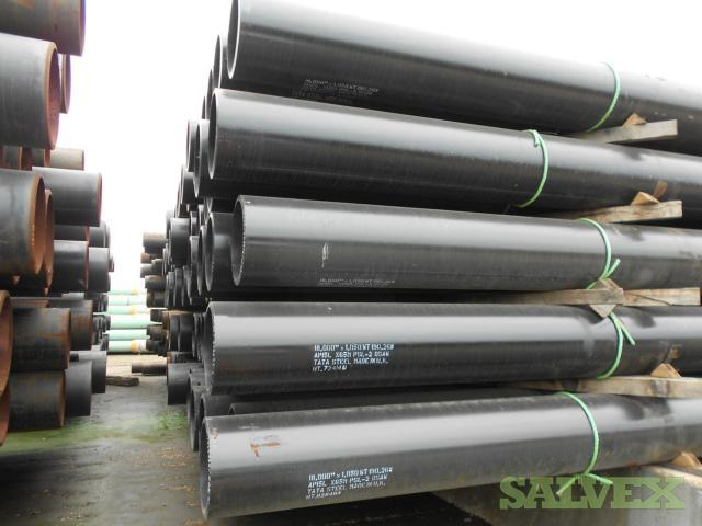 18 190.3# 1.050WT X65 DSAW Surplus Line Pipe (26,182 Feet)